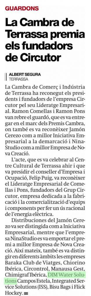 2015 06 19 El Periodico de Catalunya